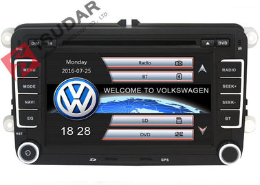 7 Inch Double Din Head Unit VW Car DVD Player For Volkswagen Jetta 2005-2013