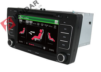 China SKODA Octavia VW Car DVD Player 7 Inch 2 Din Gps Bluetooth Car Stereo With Hand Brake Control supplier