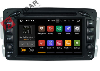 China 3D Games Support Mercedes Vito Head Unit , Mercedes Vito Dvd Player With Wifi GPS Radio supplier