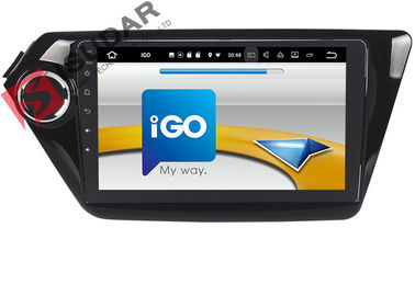 Black Android Car Navigation System Kia Rio Car Stereo With Bluetooth And Gps And Backup Camera