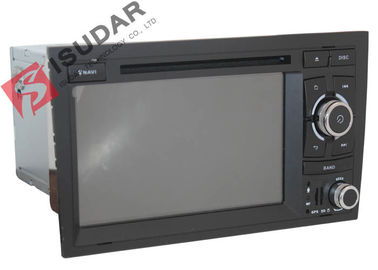 Original Front Panel 2 Din In Dash Car Dvd Player With Reverse Camera For A4 / Seat EXEO supplier