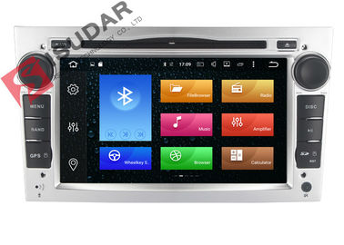 Silver Panel Opel Corsa Dvd Player , Android Bluetooth Car Stereo With Google Maps supplier