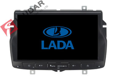 China Russian Menu Lada Vesta Android Gps Car Stereo , 2 Din Android Head Unit TPMS Supported supplier