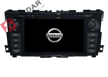 China 7 Inch Flat Screen Car Radio Dvd Player , Nissan TEANA In Dash Navigation With Backup Camera supplier