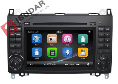 China B200 Mercedes Benz Car DVD Player 2 Din Touch Screen Car Stereo With Wince System supplier