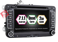 China Android 7.1.1 SKODA / VW Car DVD Player For Seat With Canbus Quad Core 2G RAM company