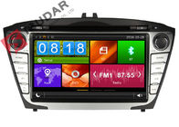 China Steering Wheel Control Hyundai Ix35 Dvd Player , In Dash Car Entertainment System factory