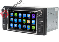 In Car Entertainment Toyota Head Unit Gps , Toyota Prado Sat Nav Panle Size 200*100mm