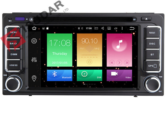 Durable Android Car Head Unit For Toyota Corolla Gps Navigation Entertainment System