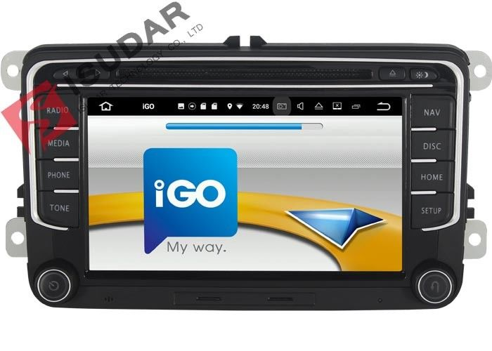 RCD510 RNS510 VW Tiguan Dvd Player Touch Screen Car Stereo With