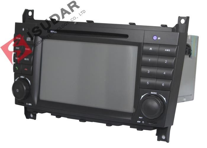 1080p Video Supported Mercedes Benz Car DVD Player For C Class W203 256Mb RAM