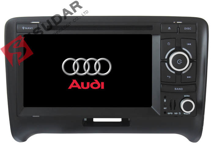 Multi - Touch Screen Double Din Head Unit With Gps And Bluetooth / Tire Pressure Monitoring
