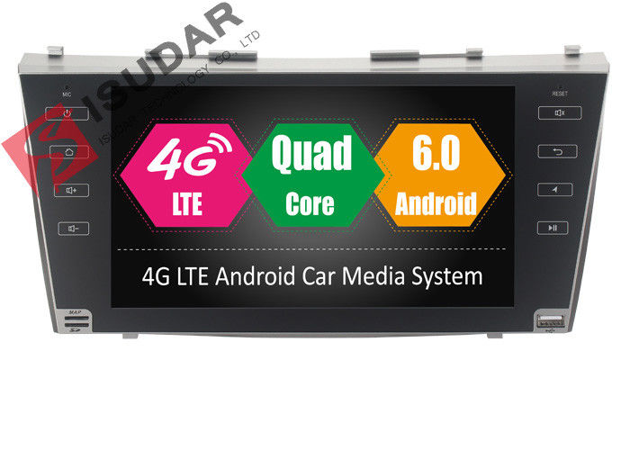 Dual Zone Function Toyota Camry Car Stereo , Android Navigation Head Unit With A2DP