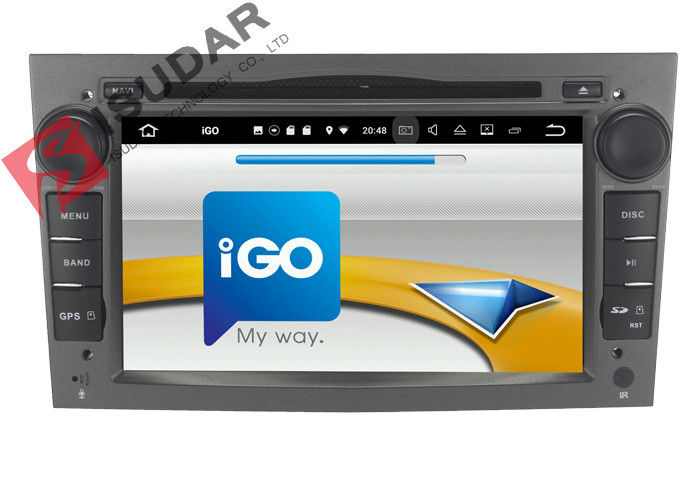 16G ROM Android Car Navigation System For Opel Vectra / Opel Zafira Dvd Player