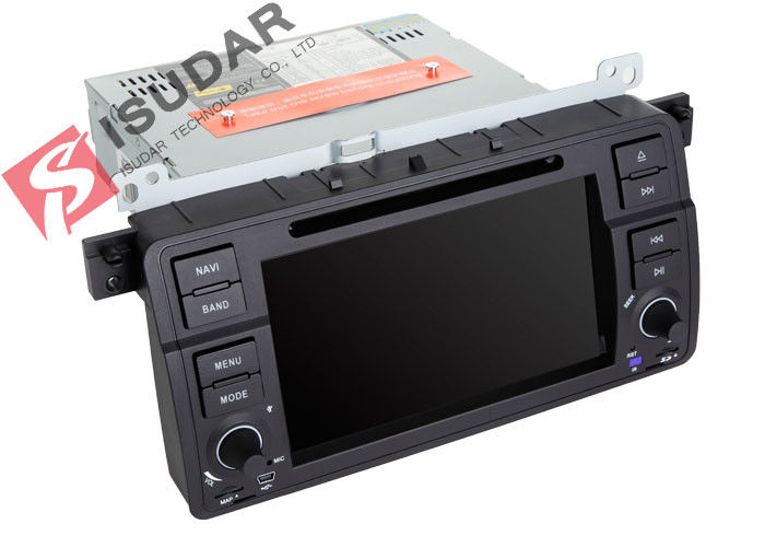 Original Car User Interface BMW E46 Sat Nav Double Deck Car Stereo ...