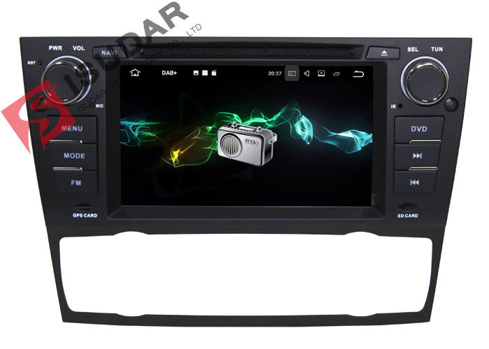 HD 1080p Videos Support BMW DVD GPS Navigation For Automatic Air Condition