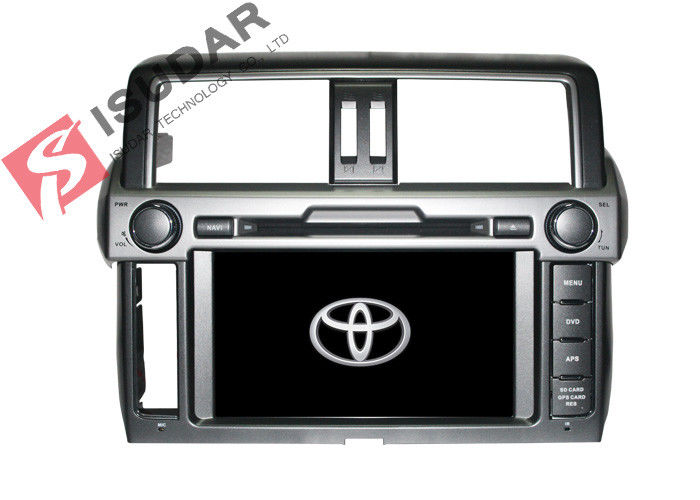 Android 6.0 Octa Core Toyota Prado Sat Nav , Toyota Prado Dvd Player Support Newest Apps