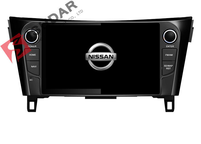 9 Inch Head Unit Dvd Bluetooth Car Stereo For Nissan Qashqai With Knob Button