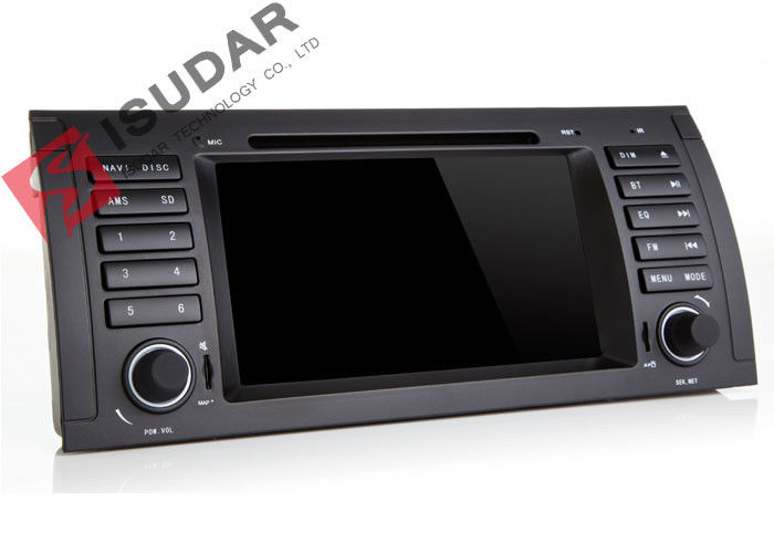Android 7 1 1 BMW E39 Android Head Unit , BMW Car Dvd Player Support DTV
