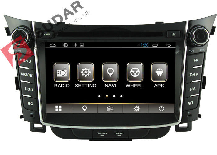 1080p Radio Android 6.0 2 Din Car Dvd Player For HYUNDAI I30 2011-2013