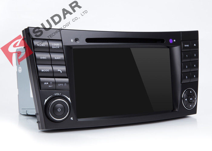 Mirrorlink Mercedes Benz Clk W209 Dvd Gps Player , Android Based Car Stereo With USB