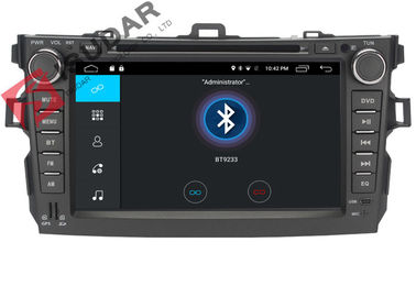 4G Toyota Corolla Car Gps Navigation System Dvd Player With TPMS OBD Function