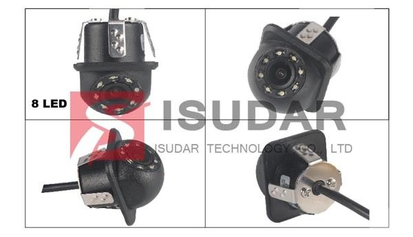 Volkswagen Ford Toyota Full HD Car DVR Camera With CMOS Imaging Sensor Snap In Design