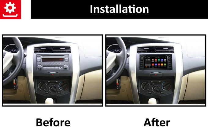 PX3 RK3188 Nissan Livina Android Auto Car Stereo With Google