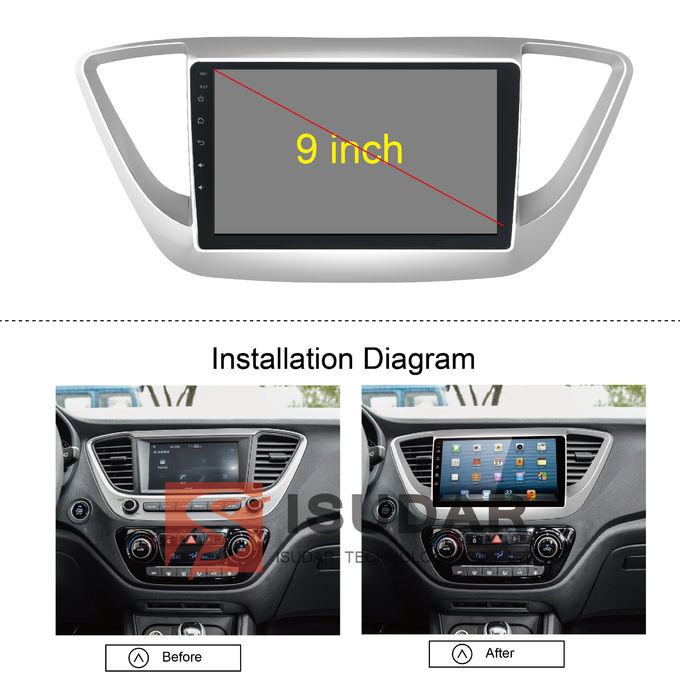 built in wifi pure android auto car stereo car head unit. Black Bedroom Furniture Sets. Home Design Ideas