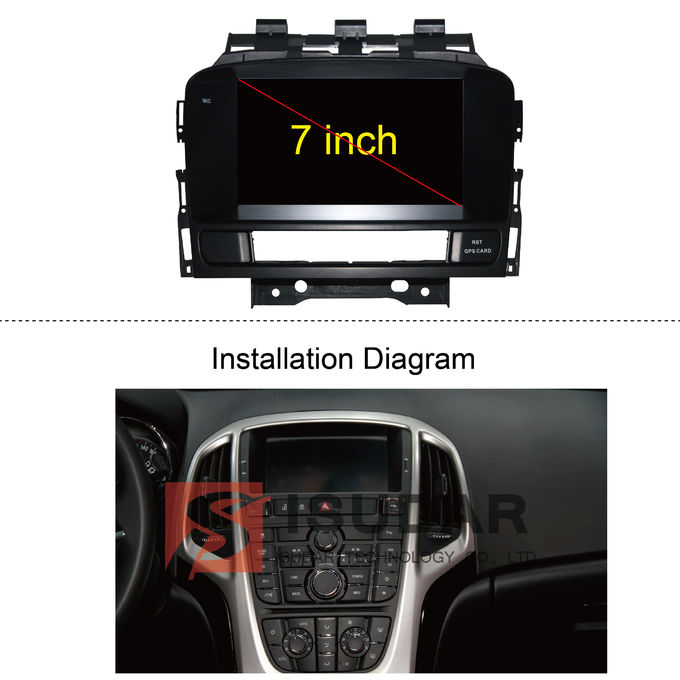 Android 7.1.1 Car Stereo Multimedia Player System For Buick Excelle XT/GT 2011-2012